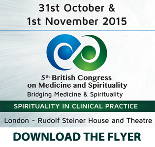 Download the Flyer from the British Congress on Medicine and Spirituality